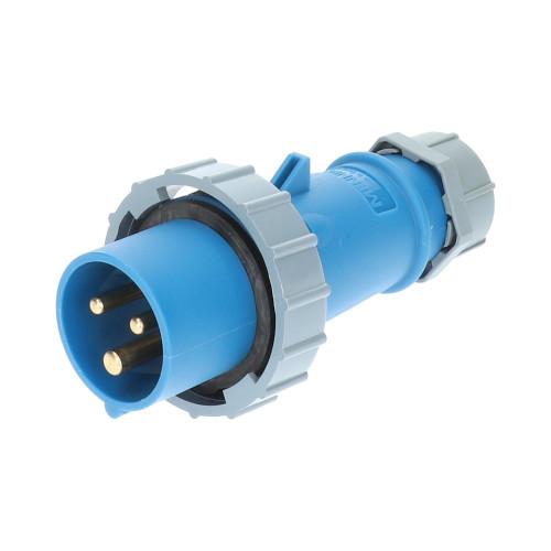 CEE Stecker blau 230V 16A IP68 Mennekes