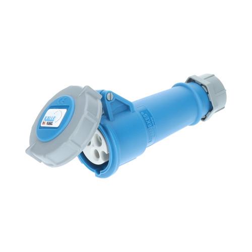 CEE Kupplung blau 230V 16A IP68 Mennekes