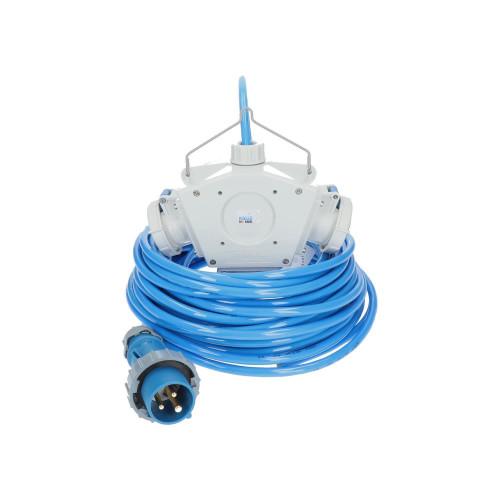 Stromverteiler KALLE Aquasafe Delta-Box CEE IP67 EXTREME 10 Meter