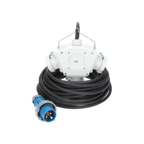 Stromverteiler KALLE Aquasafe Delta-Box CEE IP67 5 Meter