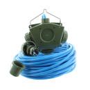 Stromverteiler KALLE Aquasafe Delta-Box SCHUKO IP68 EXTREME BUND 25 Meter
