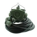 Stromverteiler KALLE Aquasafe Delta-Box SCHUKO IP68 BUND 50 Meter