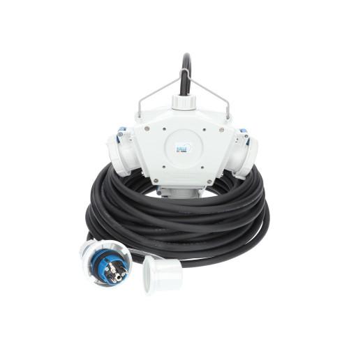 Stromverteiler KALLE Aquasafe Delta-Box SCHUKO IP68