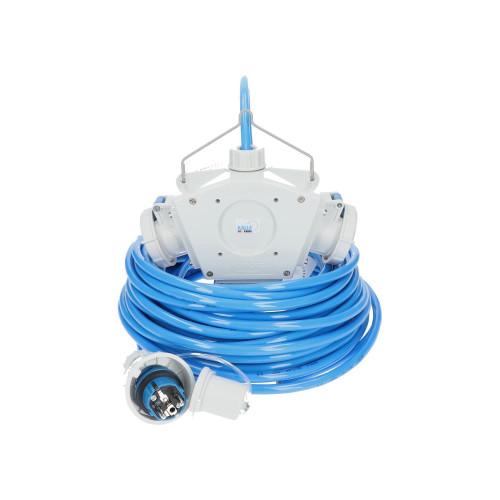 Stromverteiler KALLE Aquasafe Delta-Box SCHUKO IP68 EXTREME 1,5 Meter