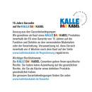 Verlängerungskabel KALLE Aquasafe CEE EXTREME IP67 mit 3-fach-Kupplung 50 Meter