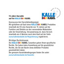 Verlängerungskabel KALLE Aquasafe CEE IP67 3-fach