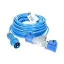 CEE Verlängerung KALLE Blue EXTREME 2,5mm² mit 2-fach-Kupplung 15 Meter