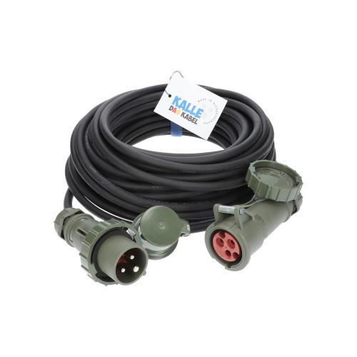 Verlängerungskabel KALLE Aquasafe CEE IP67 BUND 25 Meter 3G 2,5mm²